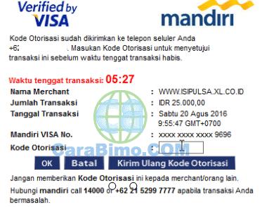 3D secured by visa