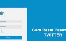 Lupa Password Twitter, Begini Cara Mengatasinya