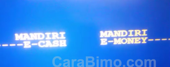 Panduan Cara Tarik Tunai e-cash Di ATM Mandiri Tanpa Kartu ATM