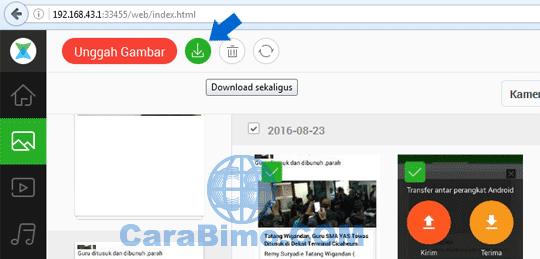 Cara Mengirim File Dari HP Android Ke PC Pakai Xender