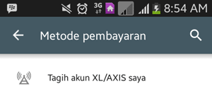 Tagih Akun XL