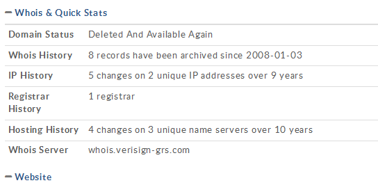 Domain Status Deleted And Available Again