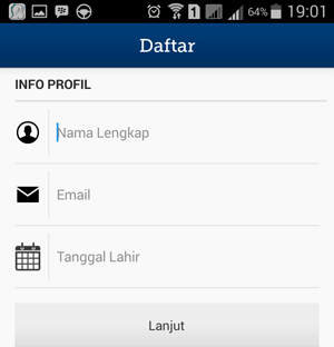Registrasi Mandiri e-cash