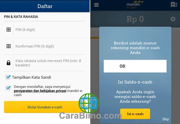 Mulai Gunakan e-cash