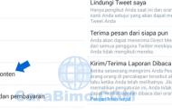 Cara Nonaktifkan Laporan Sudah Dibaca Pada Direct Message Twitter Lewat HP Android