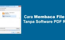 Cara Membaca File PDF Tanpa Software PDF Reader