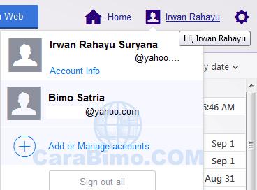 Dua Cara Mengakses Banyak Email Yahoo Dalam Satu Browser