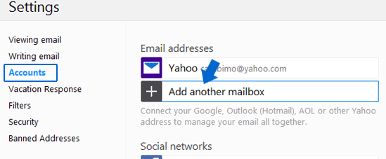 Add another mailbox