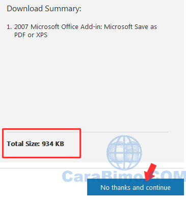 Save as PDF or XPS Office 2007
