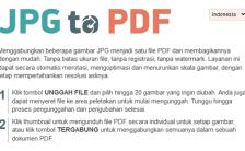 Situs Untuk Mengubah Gambar Menjadi PDF Online