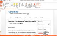 2 Aplikasi PDF Reader Sekaligus PDF Creator Terbaik Untuk Windows