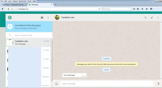 Dua Cara Membuka WhatsApp di PC