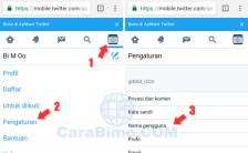 Dua Cara Mengganti Username Twitter