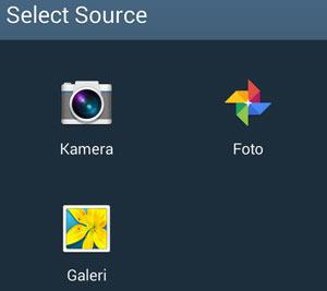 Pilih sumber gambar