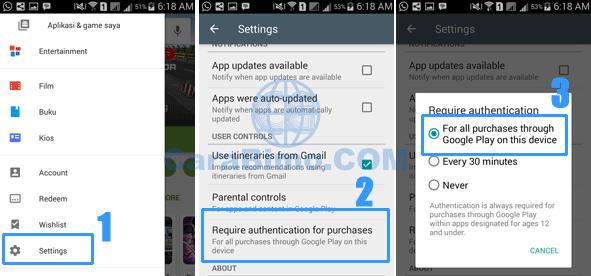 Persiapan Sebelum Reset Kata Sandi Akun Google Play Store di HP Android