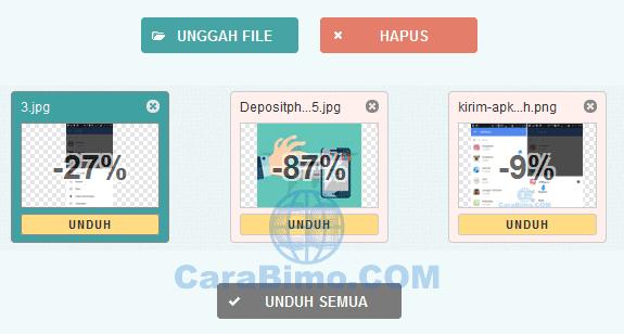 Cara Kompres Ukuran File JPG dan PNG Online