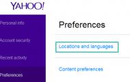 Cara Mengubah Bahasa Pada Akun Yahoo Mail