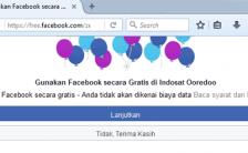 Bagaimana Cara Membuka Facebook Gratis Pakai Indosat Ooredoo