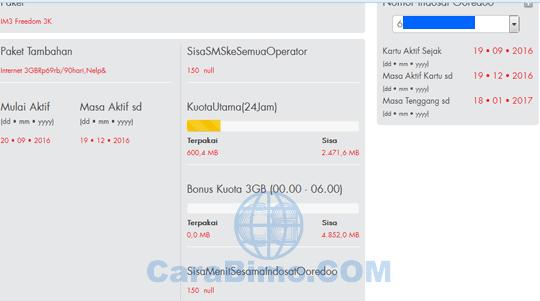 Cek Kuota Indosat Secara Online