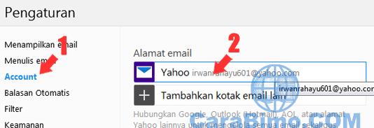 Bagaimana Cara Mengubah Nama Pengirim Email di Yahoo?
