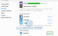 Cara Menghubungkan Akun Email Yahoo Ke DropBox