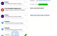 Kirim Email Lewat Yahoo Dari Aplikasi Yahoo Mail di Android