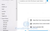 Cara Mengirim Lampiran Lewat Yahoo Mail di PC