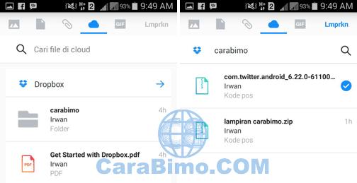 Cara Mengirim File Besar Lewat Yahoo Mail Dari HP Android