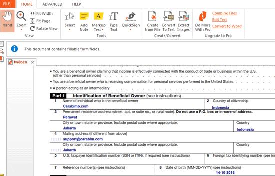 Inilah Daftar Aplikasi Untuk Mengisi Formulir PDF