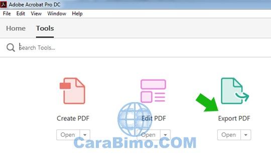 Cara Mengubah PDF ke MS Word Dengan Adobe Acrobat