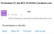 Apa Arti dan Perbedaan CC dan BCC Pada Gmail?
