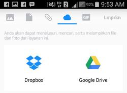 tap DropBox