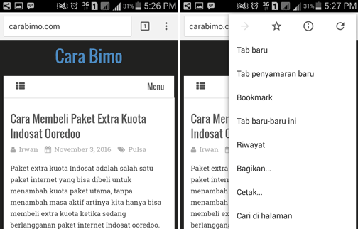Cara Save HTMl Ke PDF Di HP Android