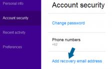 Apa Manfaat Email Pemulihan di Yahoo?
