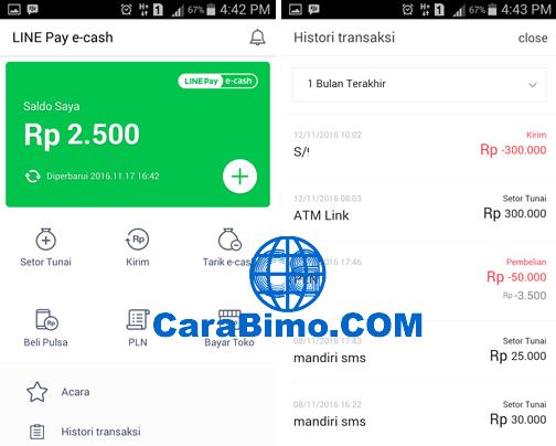Line Pay e-cash
