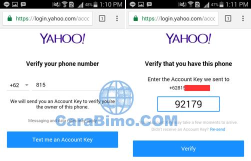 Dua Cara Daftar Akun Yahoo Baru Lewat HP Android