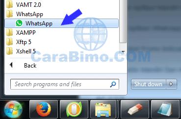 Cara Menjalankan Aplikasi WhatsApp Untuk PC di Windows 7