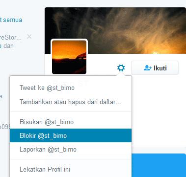 Cara Memblokir Pengikut Twitter Lewat PC