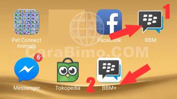 2 BBM Dalam Satu HP Android