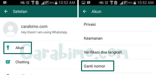 Cara Beritahu Kontak Saat Mengganti Nomor Whatsapp