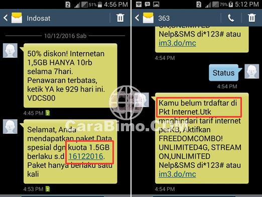 Paket Promo Indosat 1,5GB Cuma 10Ribu