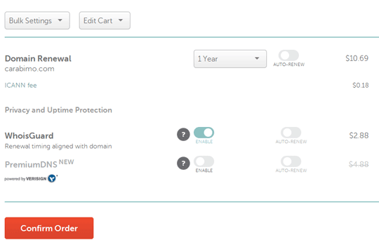 Renewal Domain di Namecheap
