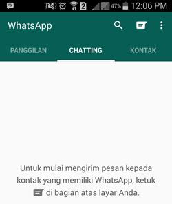 Daftar WhatsApp Dengan Nomor Lama