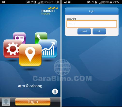 Buka aplikasi mandiri mobile