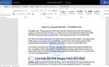 Bagaimana Cara Mengedit File Pdf Online