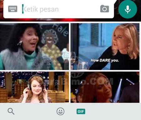 Cara Kirim Gambar Bergerak Gif Di Whatsapp