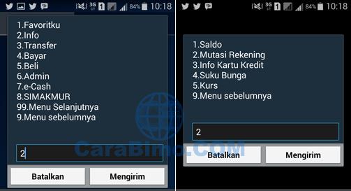 Cara Melihat Daftar Transaksi Mandiri Via SMS Banking *141*6#