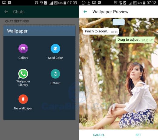 Bagaimana Cara Mengubah Wallpaper Chat WhatsApp
