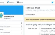 Cara Berhenti Menerima Email Pemberitahuan Dari Twitter