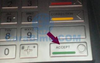 tekan tombol hijau